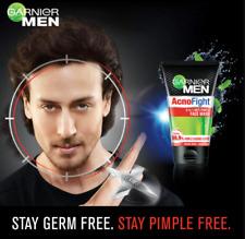 2 X 100ml Men AcnoFight face wash Anti-Pimple Acne Blackheads Salicylic Acid UK