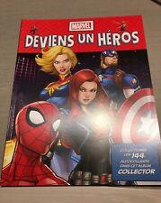 Album Marvel leclerc 2020 Deviens un héros become an hero livret vide