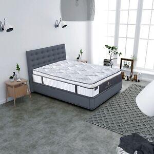 Premium  Micro Coil Pillow top Pocket Spring Queen Mattress Firm Support