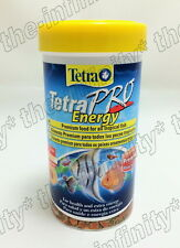 Tetra Pro Energy Fish Food multi crisp concentrate genuine tropical 250ml 55g