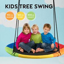 100cm Giant Tree Swing Outdoor Hammock Chair Kids Children Yard Play Equipment
