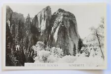 Rppc postcard Cathedral Rocks, Yosemite National Park, Ca