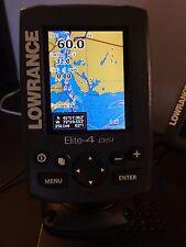 Lowrance Elite-4X DSI Fishfinder