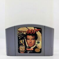 Authentic GoldenEye 007 (Nintendo 64, 1997) Cartridge With N64 Clear Case Tested