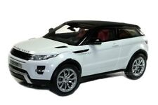 WELLY GT AUTOS  LAND RANGE ROVER EVOQUE SUV WHITE 1/18 DIECAST CAR 11003MB