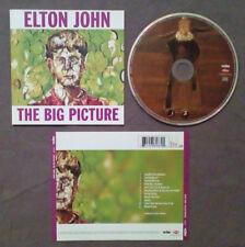 CD Elton John The Big Picture POP ROCK BALLAD Europe 1997 no lp mc vhs dvd(ST1)