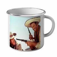 Mug Métal Tasse Film Western Clint Eastwood Cowboy Vieux Cinéma Original 6
