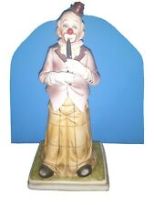 """Waco Melody in Motion Dancing Clown w/ Clarinet Porcelain """"Excellent condition"""