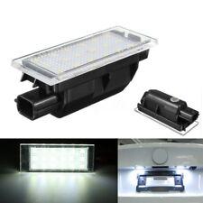 For Renault Clio Laguna Megane Master Traffic Number Plate Light Lamp