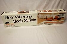 SunTouch Radiant Under-Floor Warming Mat 4ft. x 30in. 120V Ultra-Thin Dual-Wire