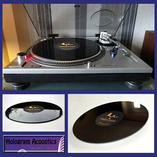 TESTED & Proven UPGRADE for Technics SP10 !! - VIBRO-STOP Turntable Mat 2X