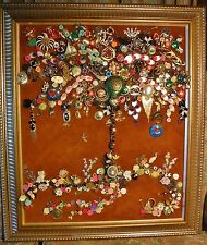 Jewelry Art Tree Nautical Life, super color, signed by Aritist