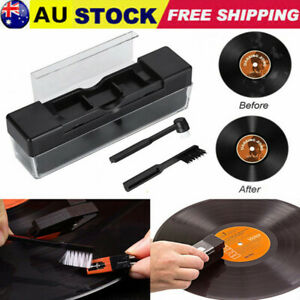 Vinyl Record Cleaning Kit Velvet Brush Anti Dirt Dust Brush Cleaner Durable AU