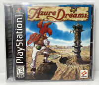 Azure Dreams PlayStation 1 Rare PS1 Complete CIB w/ Manual Tested VG DA92984