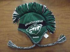 Minnesota Wild hockey Reebok NHL Mohawk style stocking cap - RARE