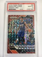 Panini Prizm Mosaic Basketball 2016-17 Marquese Chriss Red Gem Mt PSA 10 POP 2