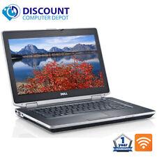 """Dell Laptop Latitude 14.1"""" Computer PC i3 8GB 500GB HD HDMI DVD Wifi Windows 10"""
