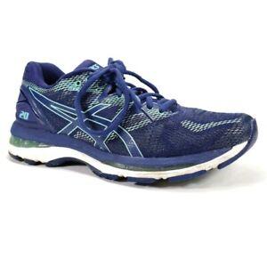Asics Gel Nimbus 20 Womens Sz 8.5 (2A) Narrow Blue Mint Running Training Shoes