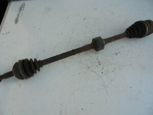 TOYOTA COROLLA 2001 1.4 O/S DRIVESHAFT - DRIVER FRONT (NON ABS)