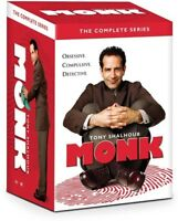 Monk: The Complete Series [New DVD] Boxed Set, Repackaged, Snap Case
