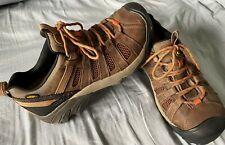 Men's Keen Flint Low Steel Toe Safety Shoes NEW w/o box