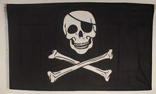 Pirat Geburtstag Flagge 250x 150 cm wetterfest Fahne Ösen Außen große Hissflagge