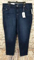 Style & Co ankle jeans womens size 18 New stretch mid rise N6