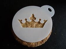 Corte láser Pequeña Princesa Corona Pastel de diseño, Cookie, Craft & Plantilla de Pintura de cara