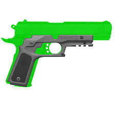 Recover Tactical 1911 Grip w/ Integrated Rail Adapter & Changeable Panels - CC3P