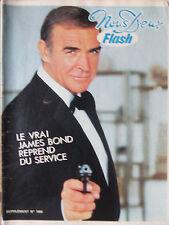NOUS DEUX Flash - (11/83) - James Bond  Sean Connery - Pascale Petit