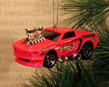 1968 FORD MUSTANG FASTBACK '68 PINK CHRISTMAS ORNAMENT XMAS