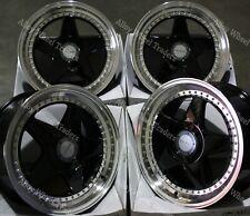 """17"""" Black DR-F5 Alloy Wheels Fits Citroen Berlingo C2 C3 C4 C5 DS3 DS4 4X108"""