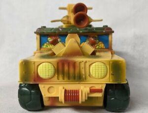 Vintage 1992 Teenage Mutant Ninja Turtles Sand Cruiser Mutant Military Hummer