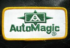 """AUTO MAGIC EMBROIDERED SEW ON PATCH CAR DETAILING POLISH WAX COMPANY 4"""" x 2"""""""