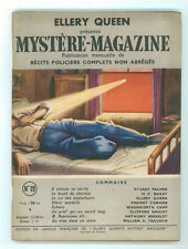 ELLERY QUEEN MYSTERE MAGAZINE 19 AOUT 1949 RECITS POLICIERS COMPLETS GIALLI