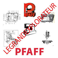 Ultimate PFAFF Sewing Machine Operation Parts Repair Service manual   750 on DVD