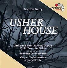Gordon Getty: Usher House Super Audio Hybrid CD (CD, Jun-2013, PentaTone...