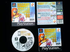 JEU Sony PlayStation PS1 PS2 : NAGANO WINTER OLYMPICS '98 (J.O. complet, suivi)