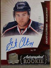 """10-11 UPPER DECK """"THE CUP"""" GRANT CLITSOME ROOKIE AUTOGRAPH #192/199"""