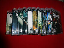 Empty Replacement Cases! Call of Duty PS3 Complete Collection Black Ops 1 2 3