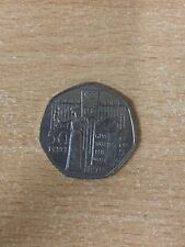 ** 2003 ** 50p coin SUFFRAGETTE MOVEMENT 100 years GIVE WOMEN THE VOTE