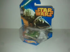 Disney Hot wheels STAR WARS YODA  - MATTEL  CGW40  voiture