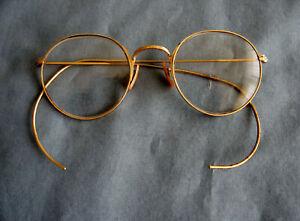 Vintage American Optical Ful-Vue Gold Filled Eyeglasses with Bifocal Lenses