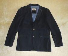 Mens Camel Active Long Fit Blazer / Jacket in Navy - Size 102 / UK 42L / Large