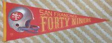 San Francisco 49ers Full Size NFL football Pennant 3D style
