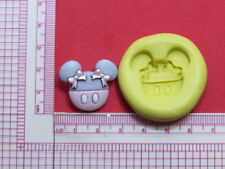 Minnie Mouse with Bow Silicone Mold Cake Pop Fondant Resin Clay Craft Candy A949