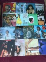 7 Soul Funk R&B Record LOT Albums Mixed Vinyl Bands Singer Artist 1950-80s VG