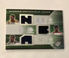 2008-09 SPX Winning Materials Trios Danny Granger/T.J. Ford/Shawne Williams