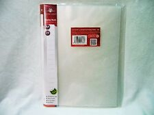 Concord Display Book White Clear A4 20 pockets Polypropylene 7137-PFL Pukka Pads