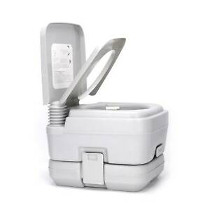 10L Portable Removable Flush Mobile Toilet Outdoor Camping Fishing Travel